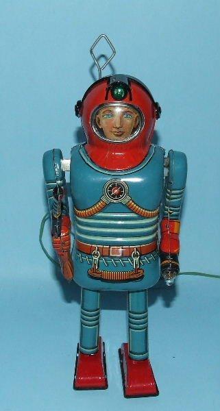 85: SONSCO NOMURA SPACE MAN ROBOT TIN BO TOY & BOX - 2