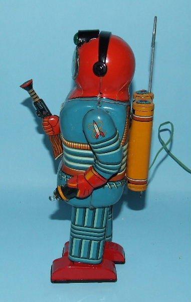 85: SONSCO NOMURA SPACE MAN ROBOT TIN BO TOY & BOX - 3