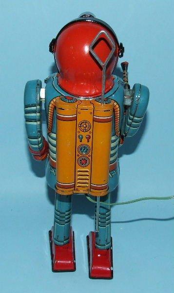 85: SONSCO NOMURA SPACE MAN ROBOT TIN BO TOY & BOX - 4