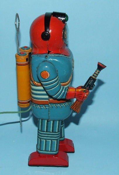 85: SONSCO NOMURA SPACE MAN ROBOT TIN BO TOY & BOX - 5
