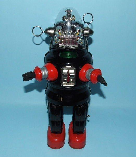 88: TN NOMURA MECHANIZED ROBBY ROBOT TIN TOY & BOX - 2