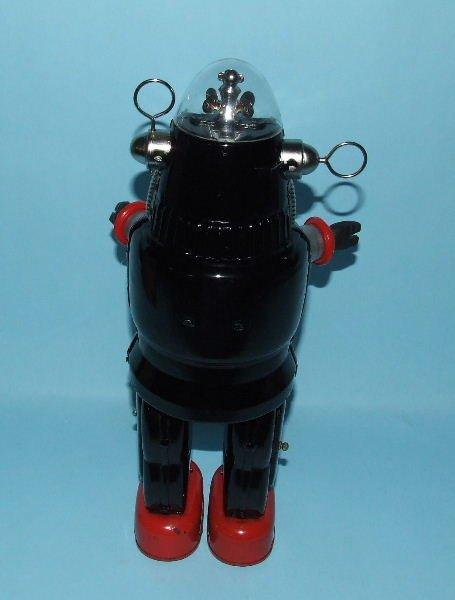 88: TN NOMURA MECHANIZED ROBBY ROBOT TIN TOY & BOX - 3