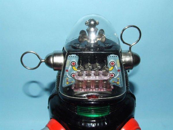 88: TN NOMURA MECHANIZED ROBBY ROBOT TIN TOY & BOX - 4