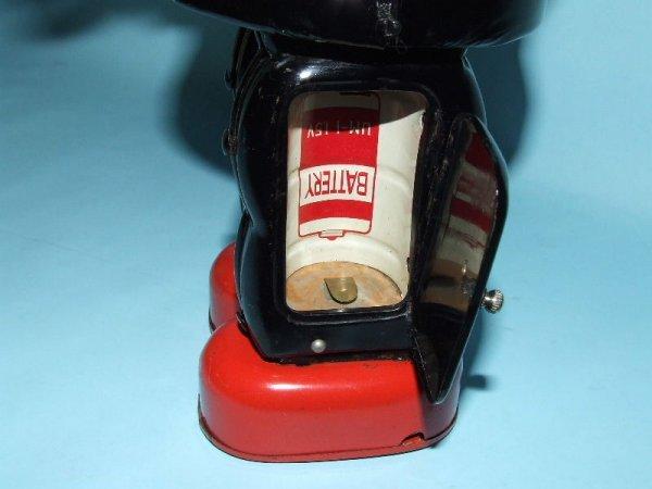 88: TN NOMURA MECHANIZED ROBBY ROBOT TIN TOY & BOX - 6