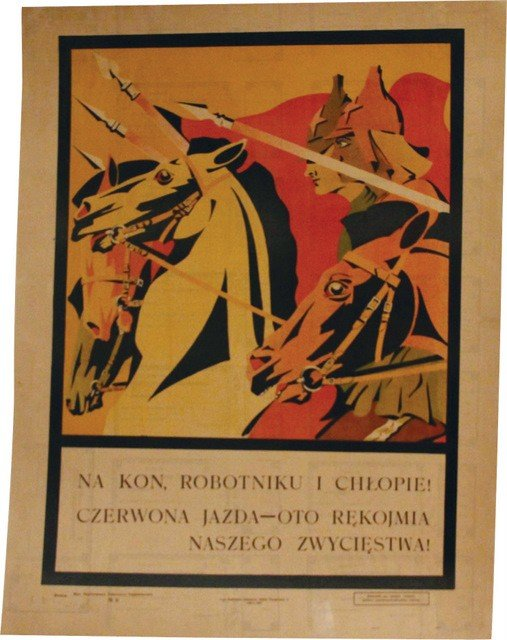 3: Anonymous Artist. 1920 Poster, Russo-Polish War Peri