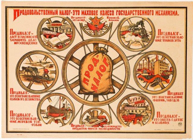 18: Anonymous Artist. Prodnalog Is the Flywheel... 1921