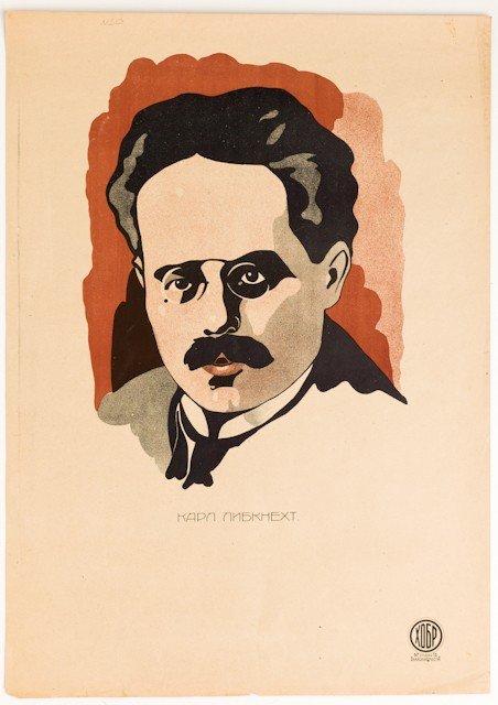 20: (ROSTA –Baku) Karl Liebknecht, [1921].