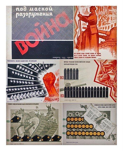 10: KOCHERGIN, N. Isotype Diagrams Portfolio, 1933