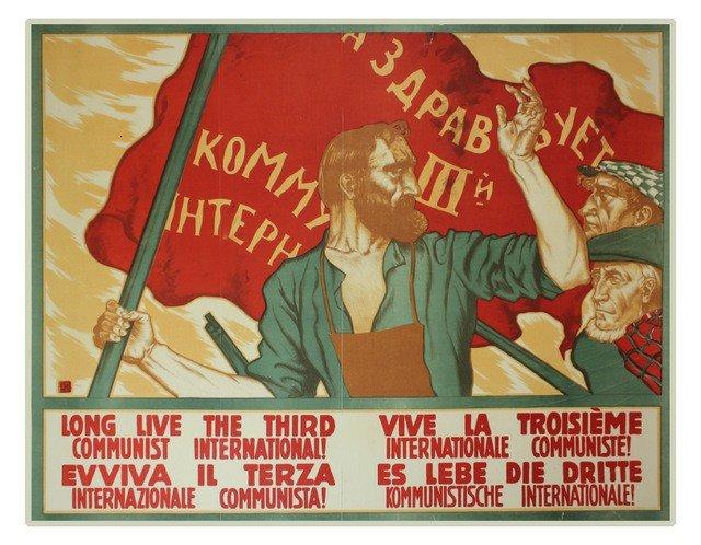 10: IVANOV, S. Long Live the III International, [1919]