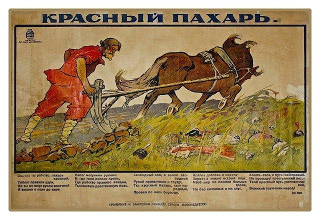 14: An unusual Civil War period poster - Siberia, 1920