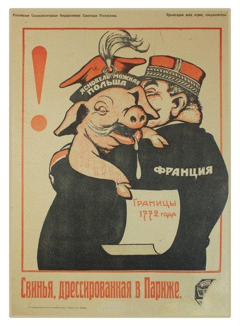 19: DENI, V. A Hog Trained in Paris, 1920