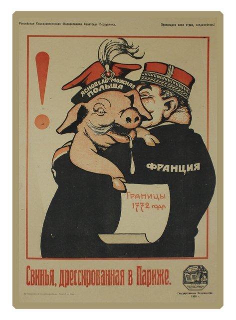 23: DENI, V. A Hog Trained in Paris, 1920
