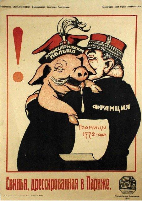 DENI, V. A Hog Trained in Paris, 1920