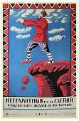 RADAKOV, A. An Illiterate Man Is a Blind Man, 1920
