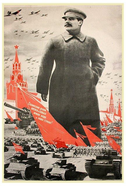 DENI, V., and DOLGORUKOV, N. Stalin's Spirit Is