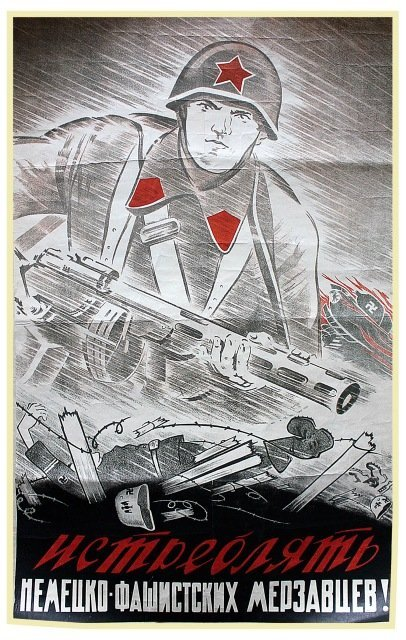 MIRZOEV, G. Destroy the German Fascist Bastards!, 1941.