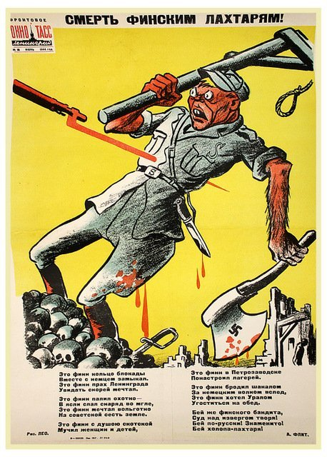 LEO, B. Death to the Finnish Butchers!, 1944.