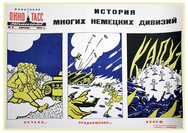 PANKRATOV, S. The Story of Many German Divisions, 1944.