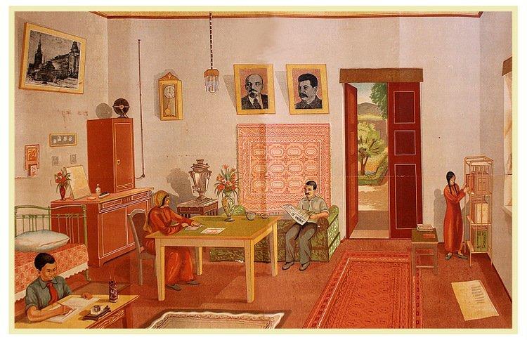 FEDURA, M. [Modern Turkmen Family, 1930s]