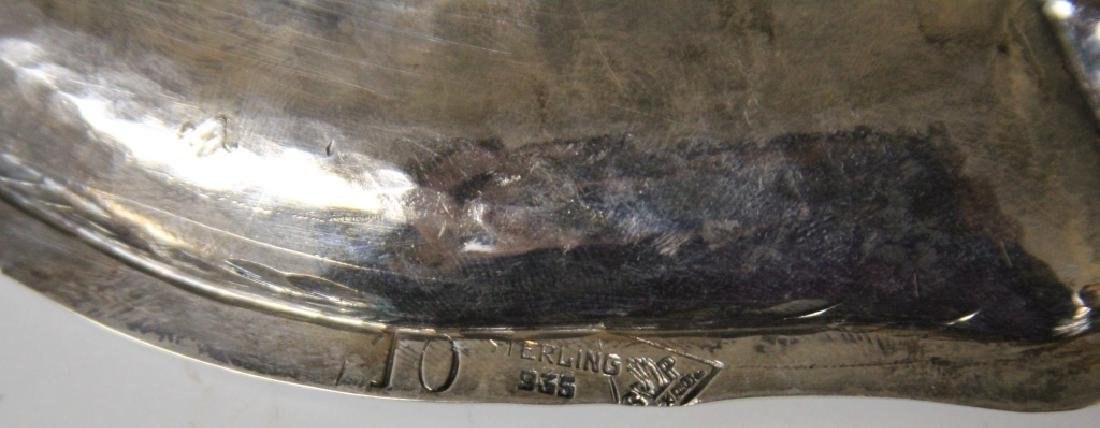 MEXICAN STERLING SILVER PLATTER - 3