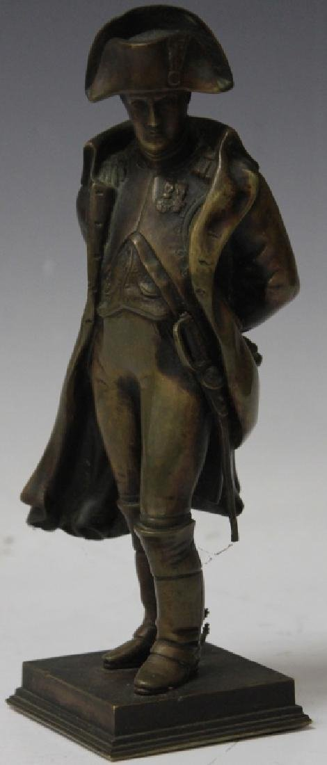 FRENCH CAST BRONZE FIGURE OF NAPOLEAN, 1900s