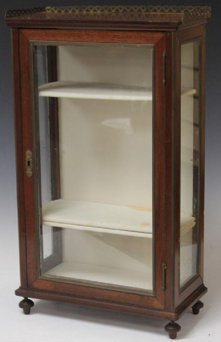 19TH CENTURY FRENCH DISPLAY CABINET