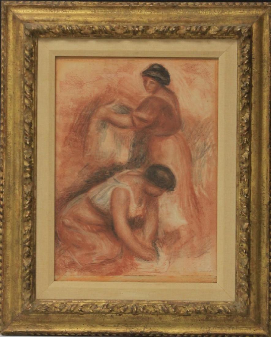 PIERRE AUGUSTE RENOIR (1841-1919), SIGNED PRINT