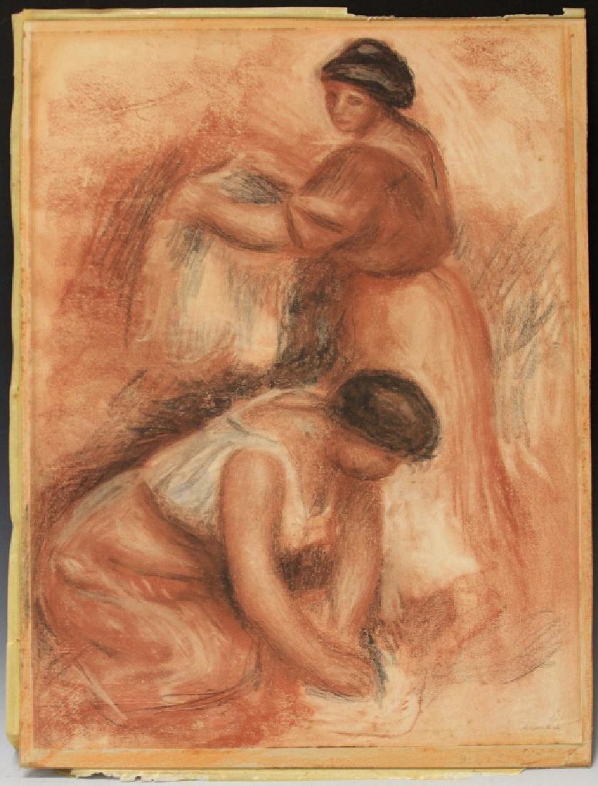 PIERRE AUGUSTE RENOIR (1841-1919), SIGNED PRINT - 2