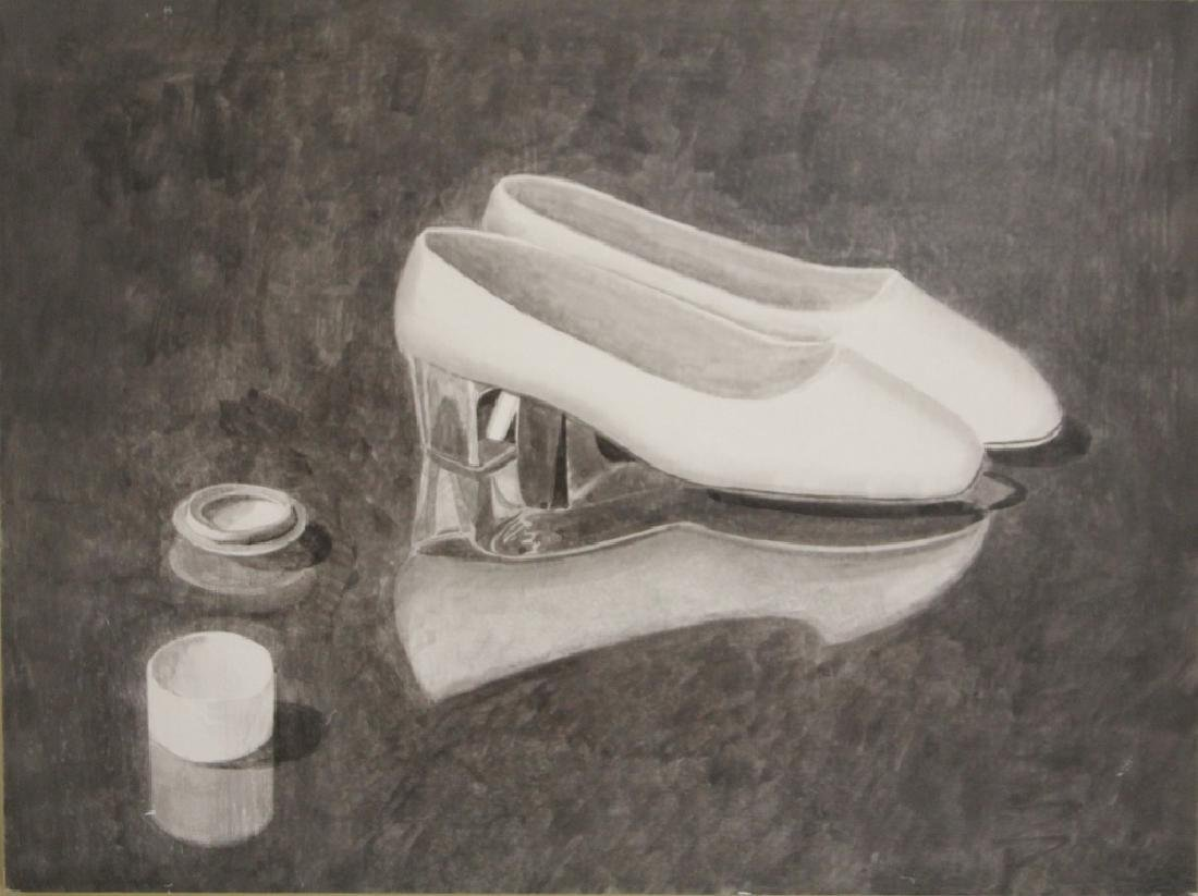 GORDON COOK (1927-1985), OIL ON BOARD