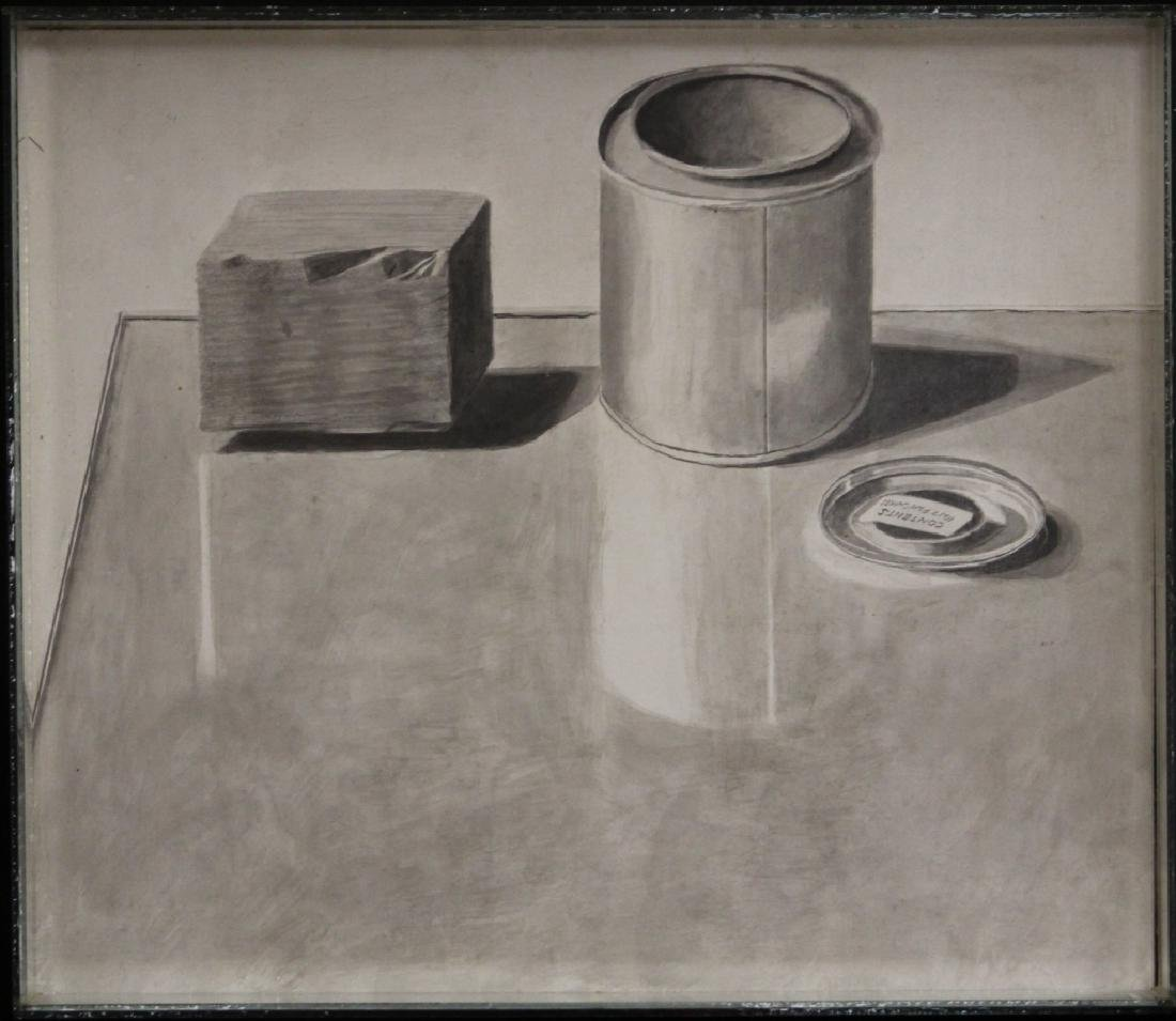 GORDON COOK (1927-1985), OIL ON BOARD