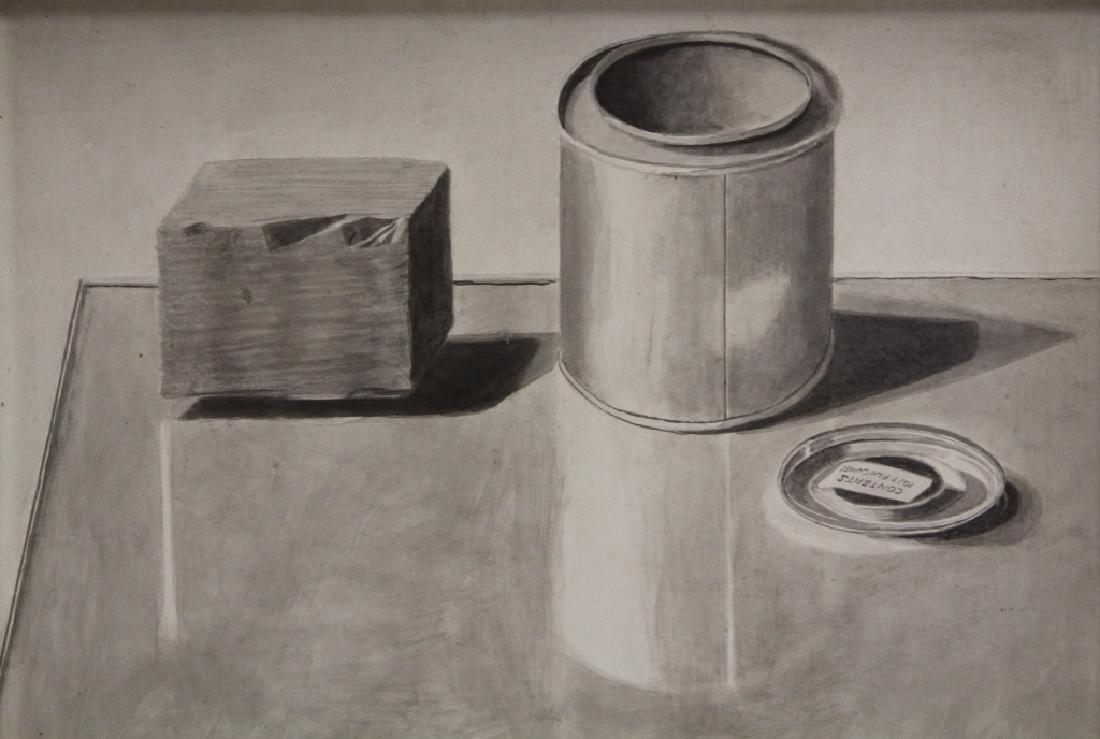 GORDON COOK (1927-1985), OIL ON BOARD - 2