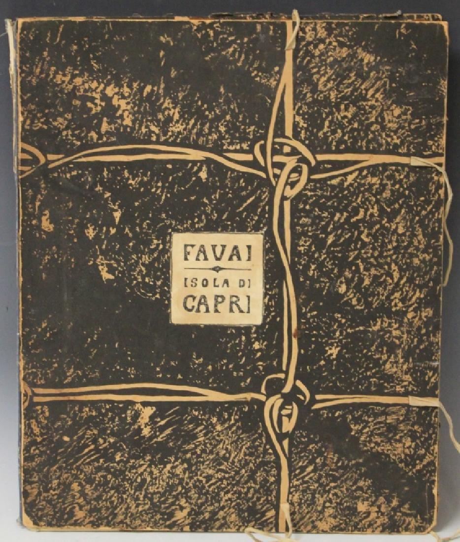 FAVAI GENNARO(1879-1958), ISOLA DI CAPRI PORTFOLIO