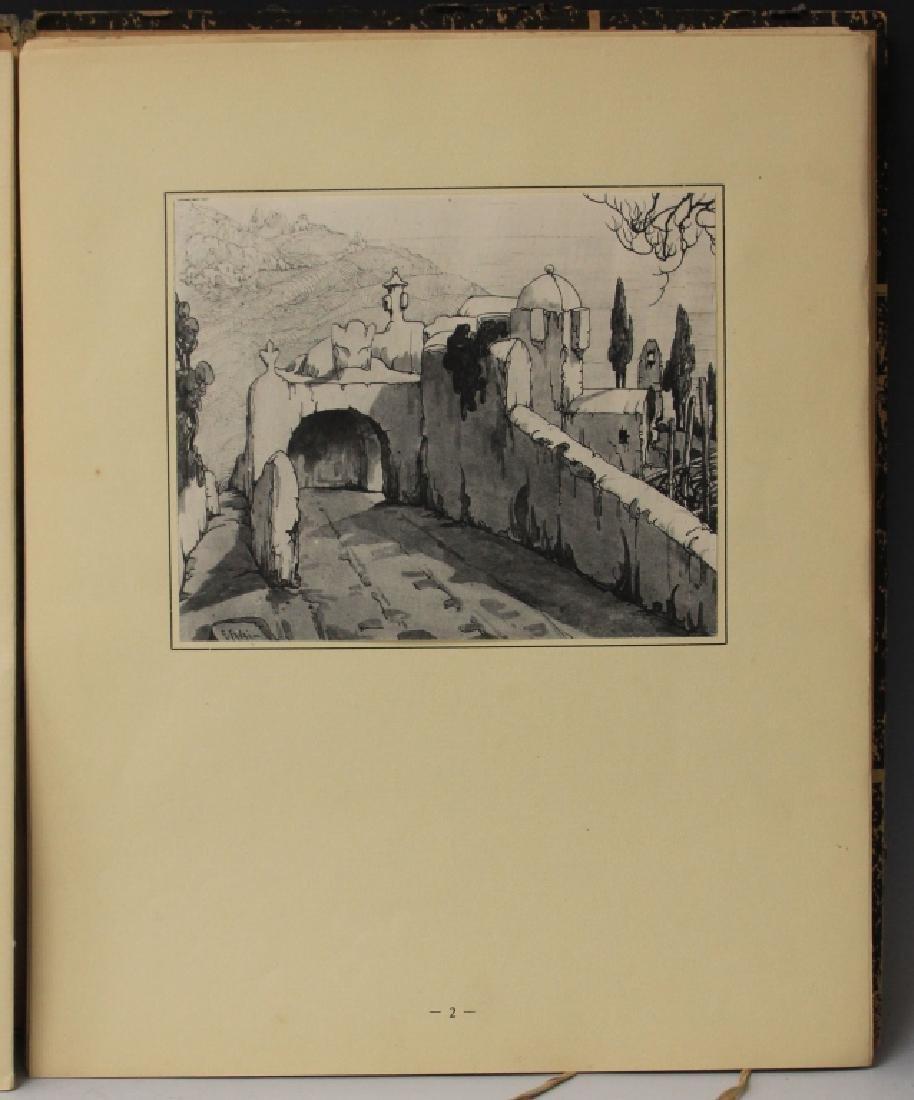 FAVAI GENNARO(1879-1958), ISOLA DI CAPRI PORTFOLIO - 3