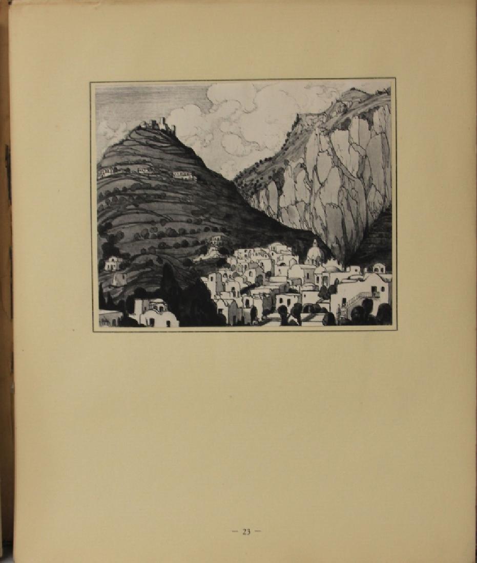 FAVAI GENNARO(1879-1958), ISOLA DI CAPRI PORTFOLIO - 5