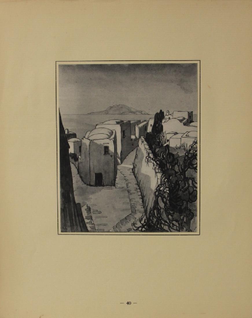FAVAI GENNARO(1879-1958), ISOLA DI CAPRI PORTFOLIO - 6