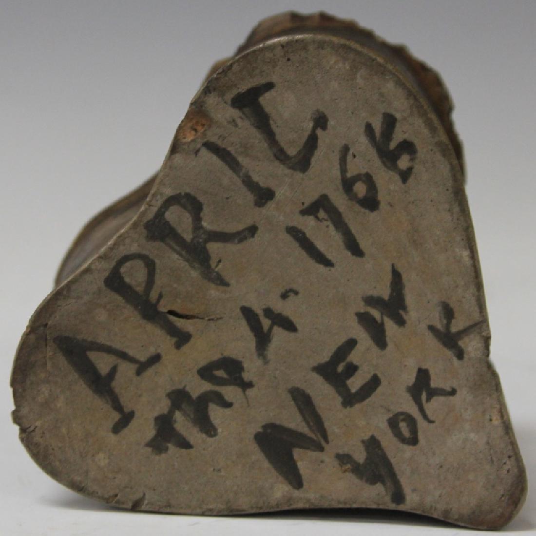 "AMERICAN INKWELL, ""NEW YORK 1766,"" 18TH CENTURY - 2"