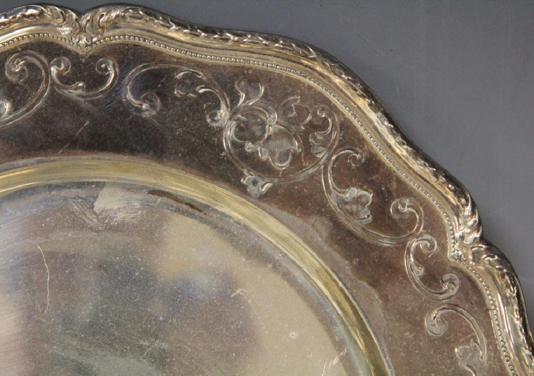LOT OF (6) SHREVE & CO. STERLING SILVER TRAYS - 2
