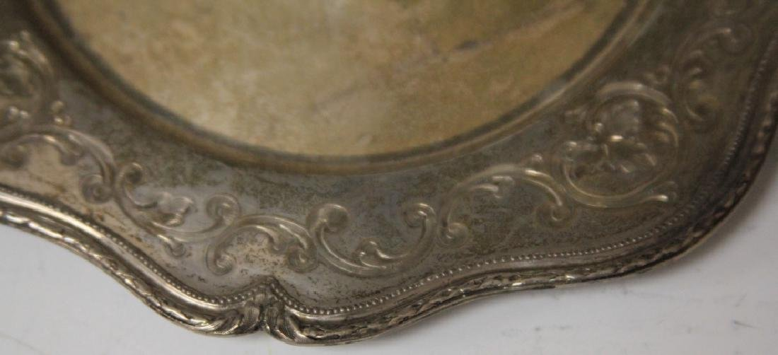 LOT OF (6) SHREVE & CO. STERLING SILVER TRAYS - 3