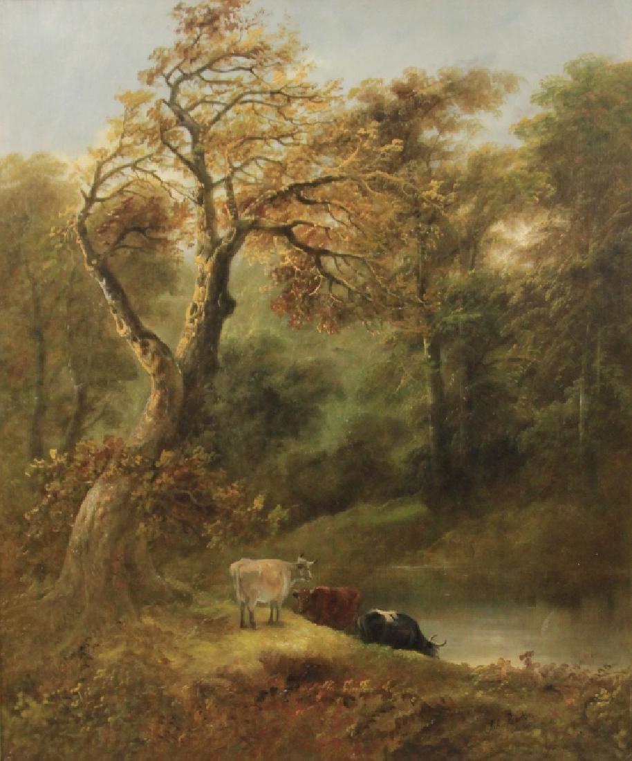 JOHN BARKER (1824-1904), OIL ON CANVAS