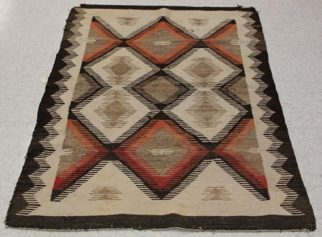 NATIVE AMERICAN INDIAN NAVAJO WOVEN BLANKET