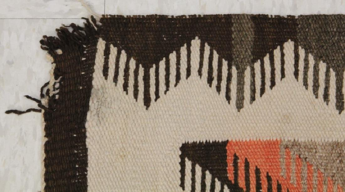 NATIVE AMERICAN INDIAN NAVAJO WOVEN BLANKET - 3