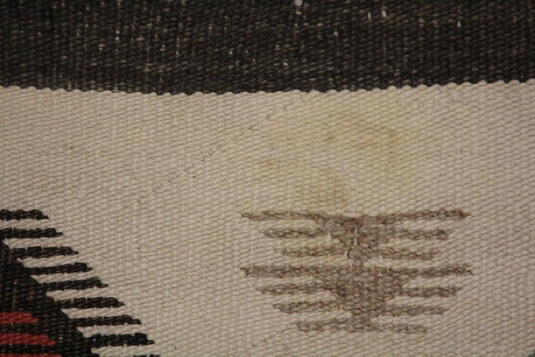 NATIVE AMERICAN INDIAN NAVAJO WOVEN BLANKET - 5