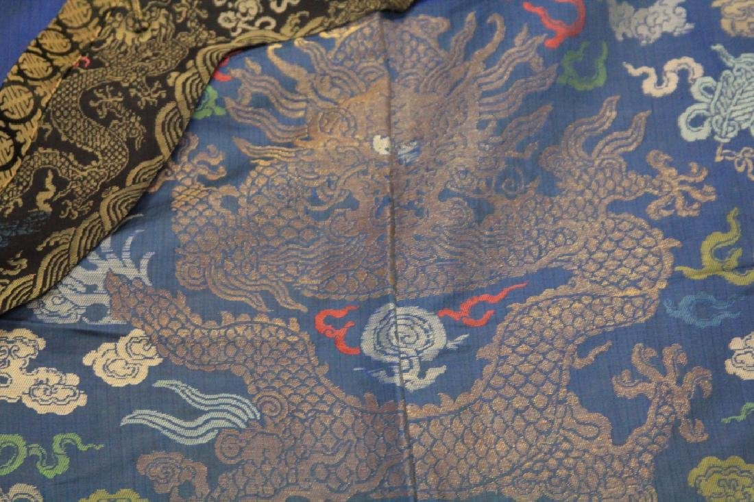 VINTAGE CHINESE EMBROIDERED ROBE - 3