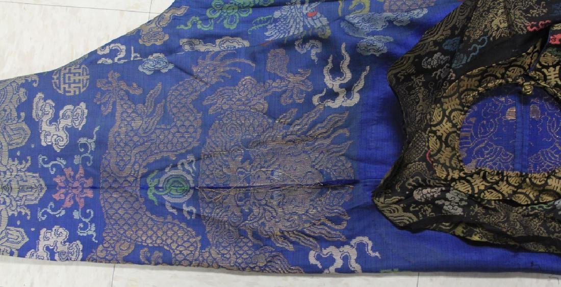 VINTAGE CHINESE EMBROIDERED ROBE - 8