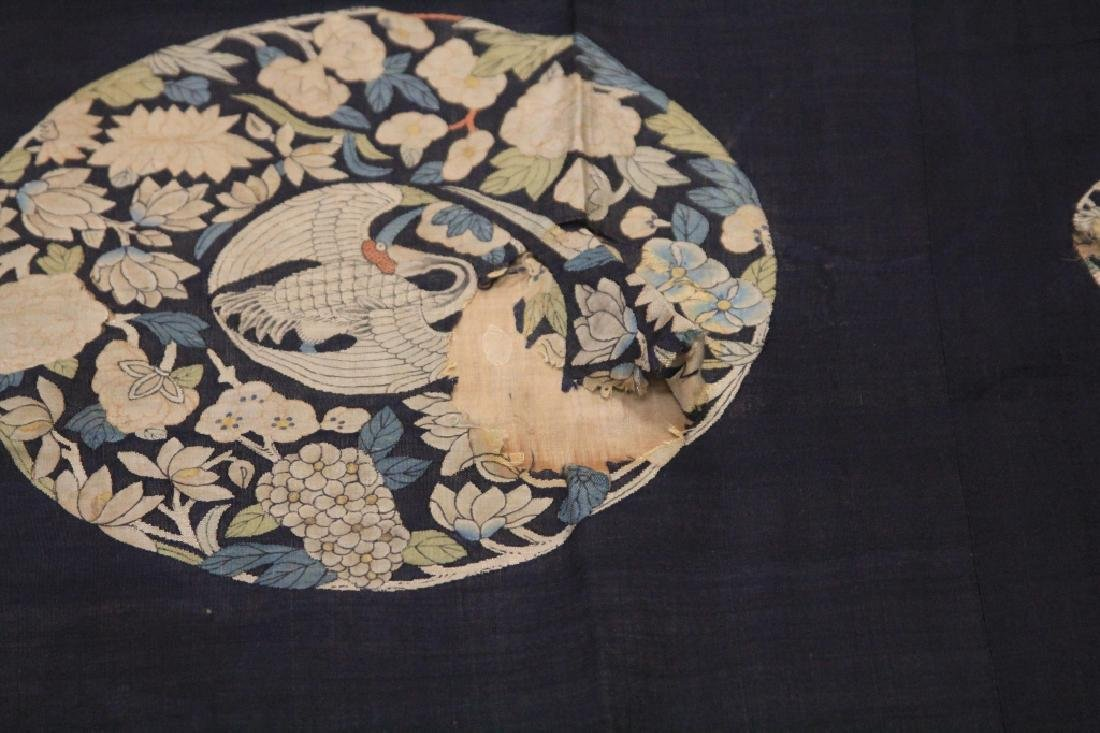 19TH CENTURY CHINESE TAPESTRY - 4