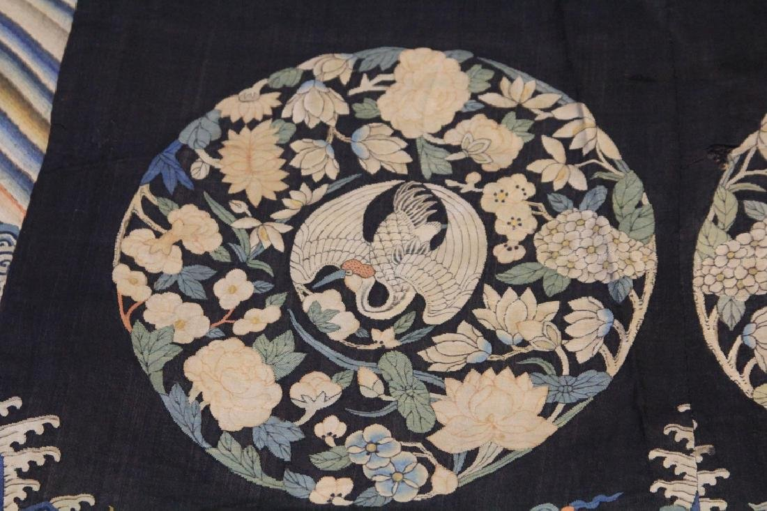 19TH CENTURY CHINESE TAPESTRY - 6