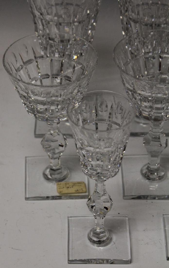 LOT OF (18) CRYSTAL STEMWARE - 2