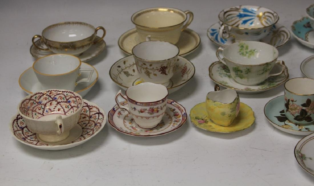LOT OF (21) VINTAGE TEA CUPS AND SAUCERS - 2