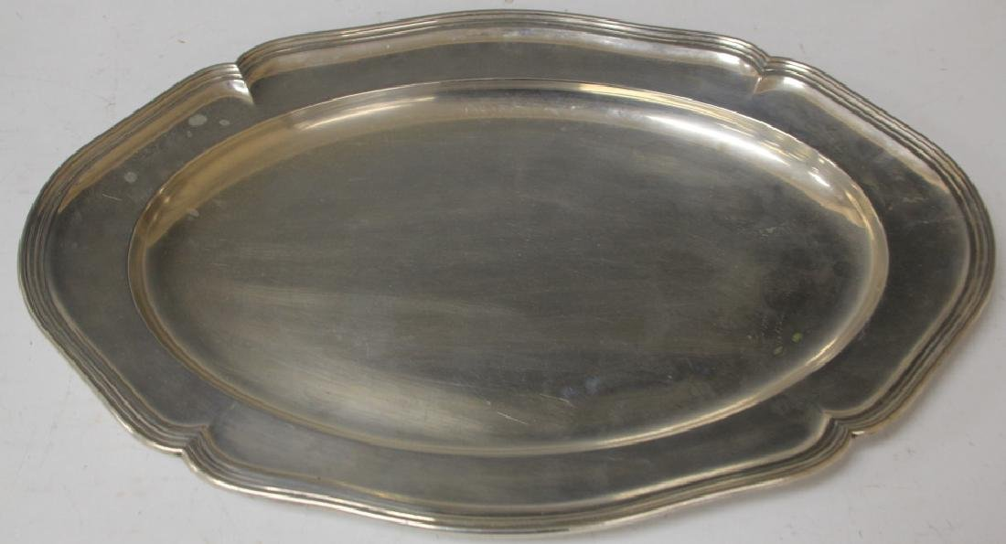 NORWEGIAN .830 SILVER TRAY