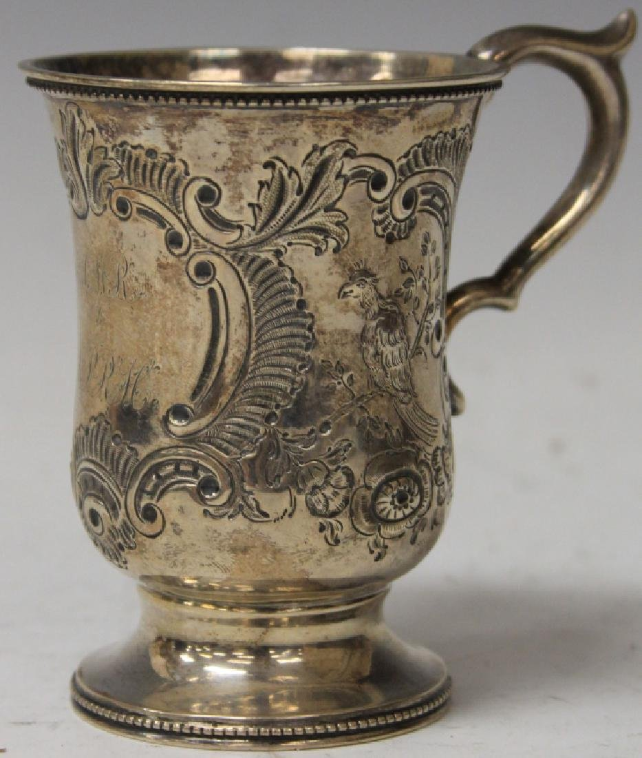 LATE 18TH/19TH CENTURY SILVER CUP WITH MARKS